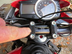 fitting the controller with dual lock
